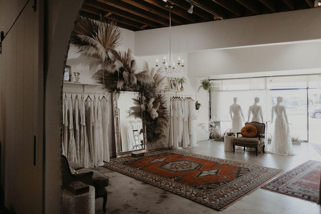 Dreamers & Lovers Venice Showroom in Bridal Shops Los Angeles