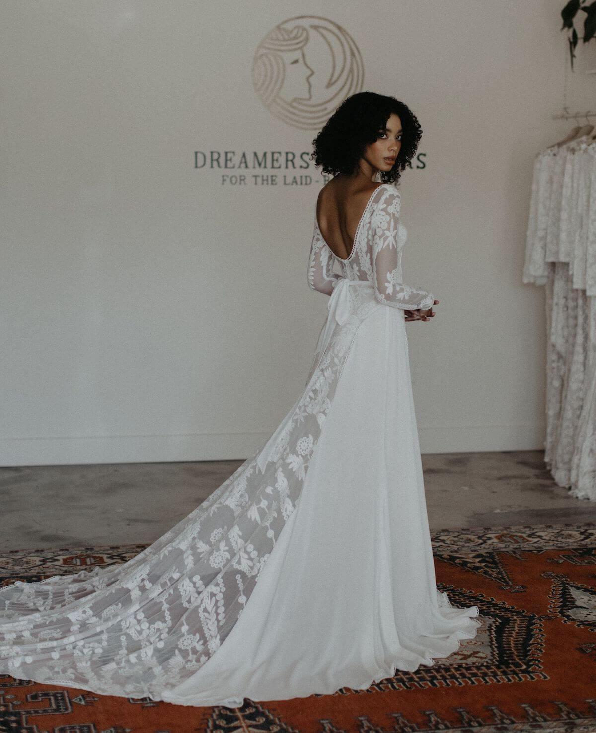 Savannah Rustic Lace Wedding Dress