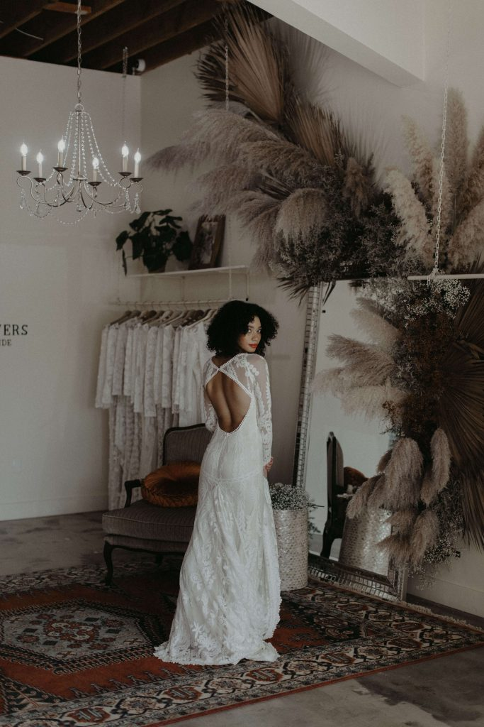 Venice-los-angeles-bridal-shops-featuring-the-Violetta-gown