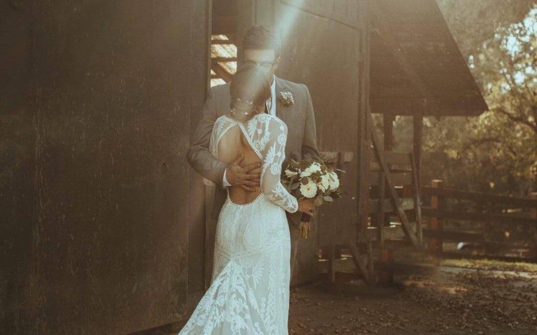 An Intimate Backyard Wedding in Northern California
