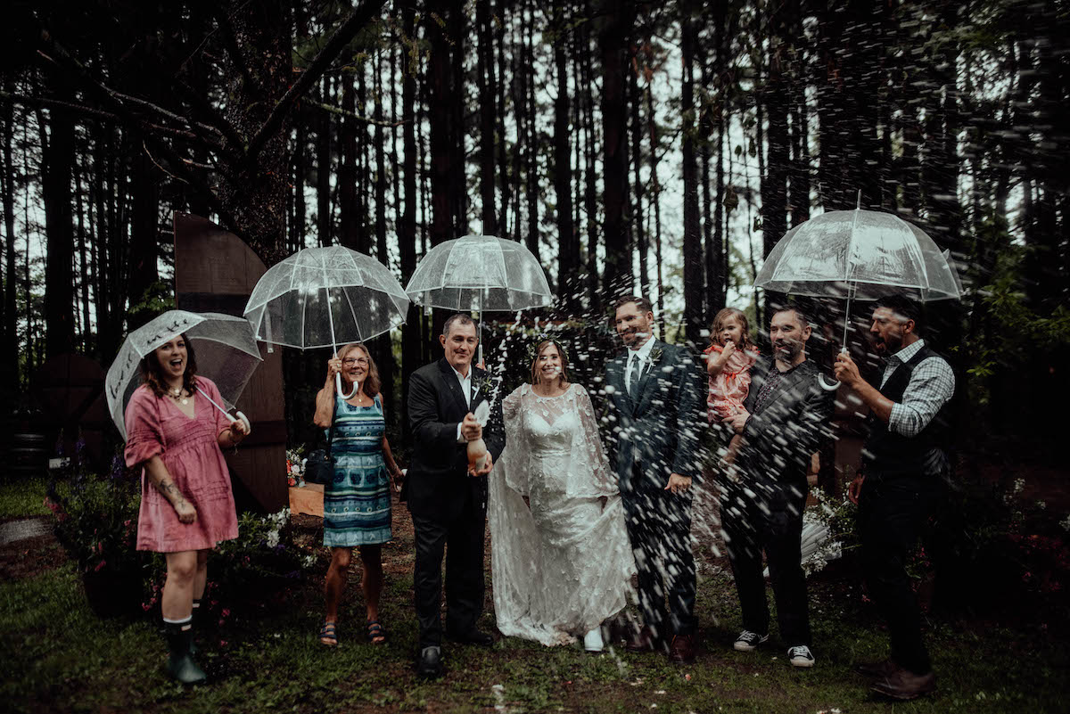 Small and Intimate Bohemian Wedding in Kent