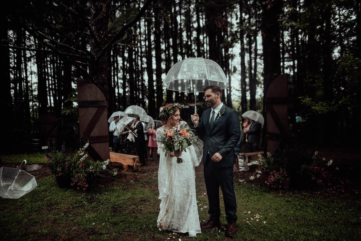 Intimate Boho Wedding in Kent